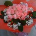 QF0868-roses hand bouquet flowers