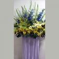 QF1115-Yellow Blue Wreath