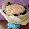 QF1150-Simple Rose Bouquet