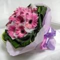 QF1153-Daises Gerberas Bouquet
