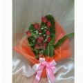 QF1158-Roses Standing Bouquet