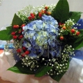 QF1160-Hydrangea Bouquet