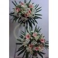 QF0561-wreath lilies daisies