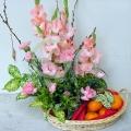 QF1208-flower fruit arrangement