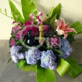 QF1203-flower wine arrangement