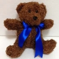 TB0023-bear teddy bow tie