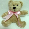 TB0038-bear teddy with bow tie